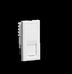 UTP CAT5E RJ45 Outlet Module 25 x 50mm -  MLaccessories -  NETCAT5
