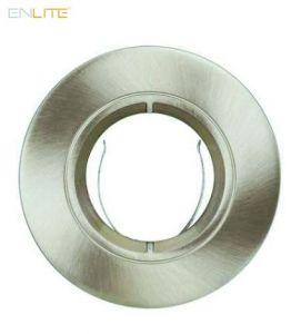 Enlite EFD Pro Satin Nickel 90mm Fixed Aluminium Lock Ring Bezel-EN-BZ91SN-ENLITE