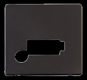 13A FCU + F/O (LOCK) PLATE - SCP350 - Scolmore