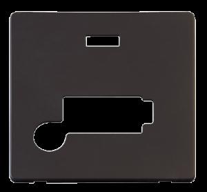 13A FCU + F/O+NEON (LOCK) PLATE - SCP353 - Scolmore