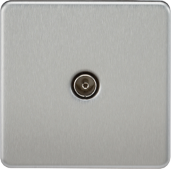 Screwless 1G TV Outlet (Non-Isolated)-SF0100-Knightsbridge