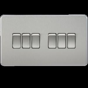 Screwless 10A 6G 2-way Switch - SF4200
