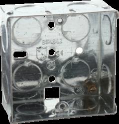 1G 35mm Galvanised Steel Box-SG135-Knightsbridge