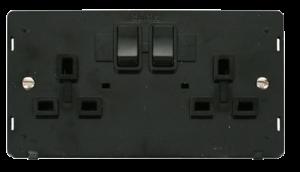 2G 13A DP SW SOCKET INSERT - SIN036 - Scolmore