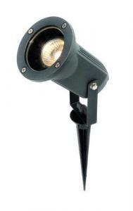 Knightsbridge 230V IP54 50W GU10 Directional Garden Spike/Wall Spotlight