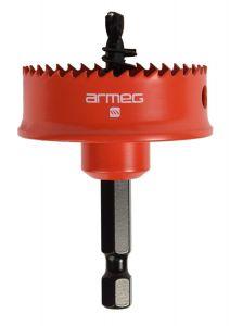 Armeg SSH040 Sheet Steel Hole Saw, Red, 40 mm
