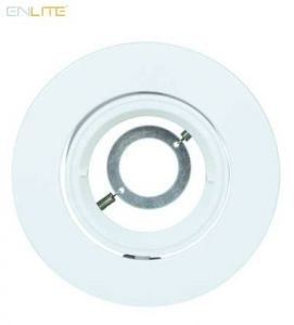 Enlite EFD Pro White Adjustable 102mm Aluminium Lock Ring Bezel-EN-BZ92W-ENLITE